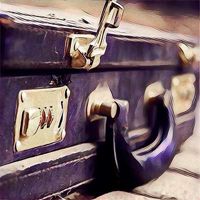 Cheap 2nd hand briefcase