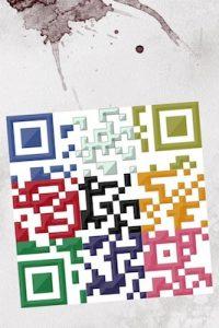 QR code puzzle.