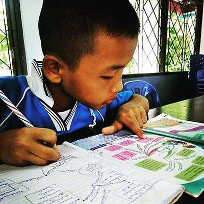 Thai school child Project Justice