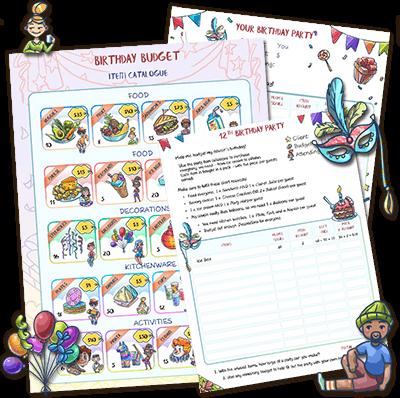 birthday-planner-worksheets-400x400