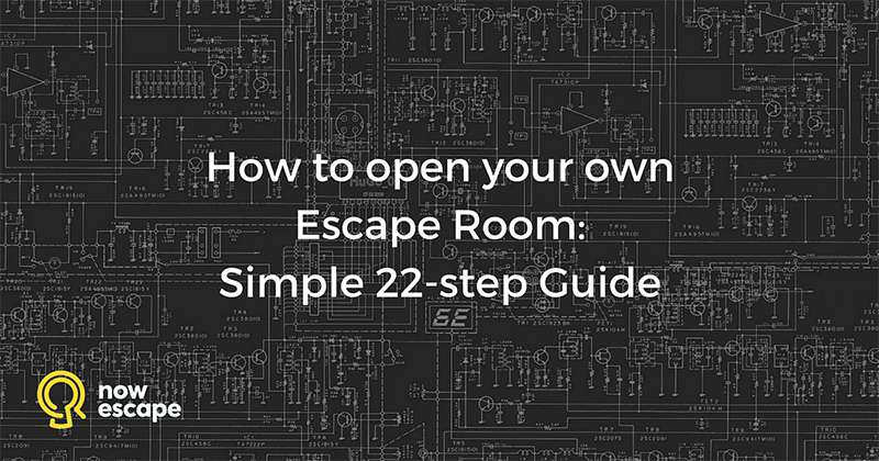 How to open your own escape room