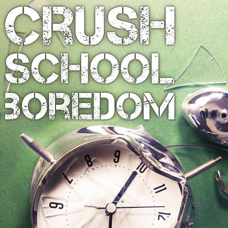 Crush school boredom with escape rooms