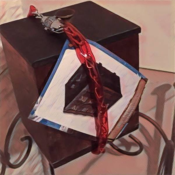 Locked box puzzle