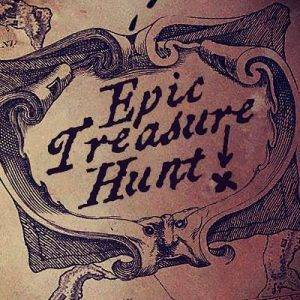 Treasure hunt map templates