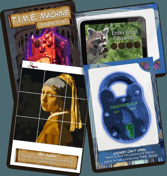 Escape quest clue cards