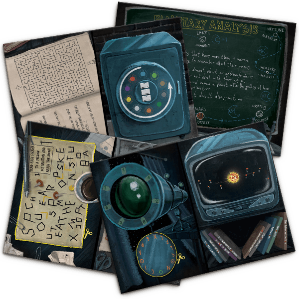 It's just an image of Impertinent Free Printable Escape Room Kit