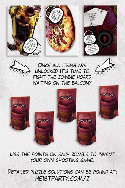 Hints Amp Tips For Escape Room Zombie Diy Escape Game