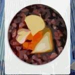 Food round card