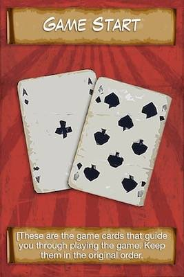 Game start card