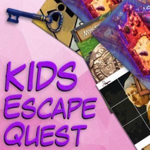 Girls escape quest party kit