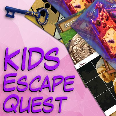 Girls escape quest party kit