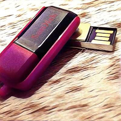 Puzzle stashed on USB key