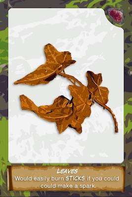 Leaves card