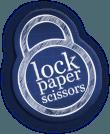 Lock Paper Scissors logo 120px