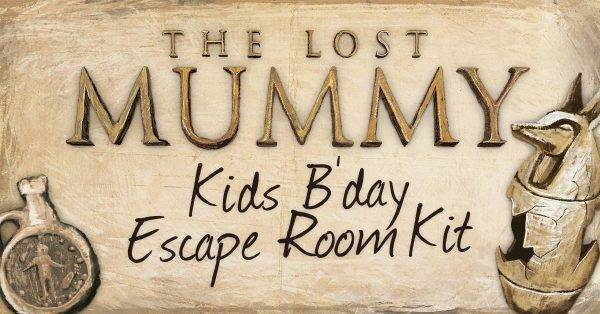The Lost Mummy Escape Kit tmb