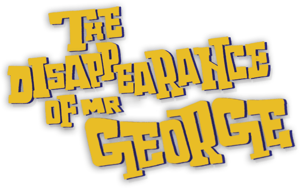 Mr George game title logo wide