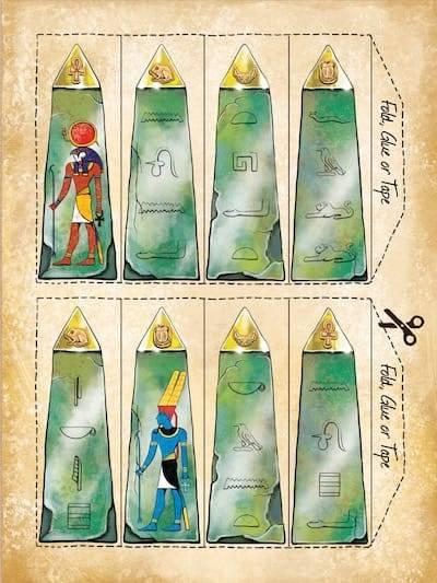 Obelisk puzzle