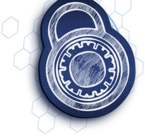 Blueprint padlock bkg