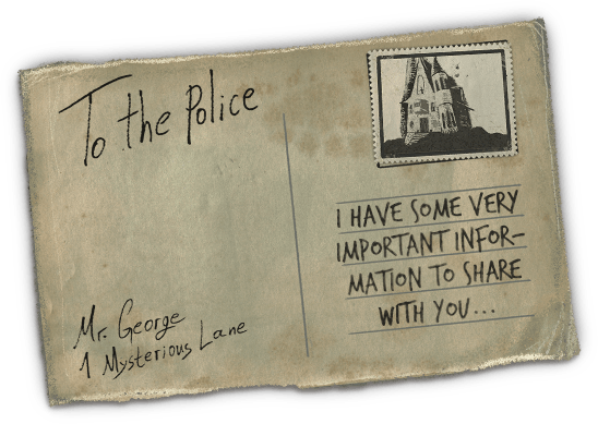 Postcard from Mr. George