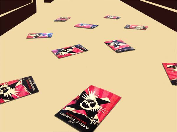 Stun mine mini game