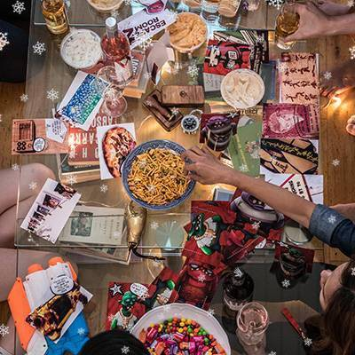 rebel-revolt-reaching-for-table-snacks-400x400-christmas