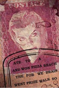 Resident evil stamp.