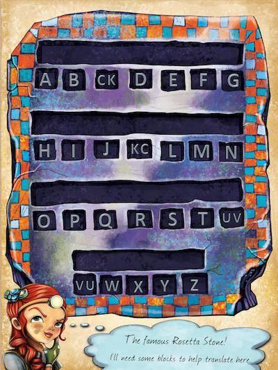 Rosetta stone escape puzzle
