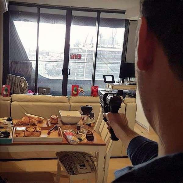 Shooting mini game