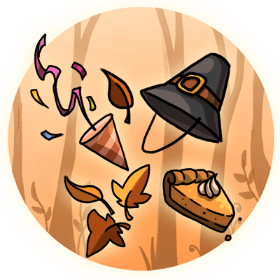 thanksgiving-party-decal